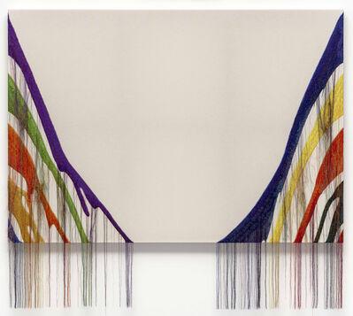 Kyungah Ham, 'Abstract Weave / Morris Louis Delta Kappa 1960 SS02', 2019