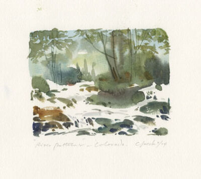 Craig Lueck, 'River Patterns in Colorado', 2004