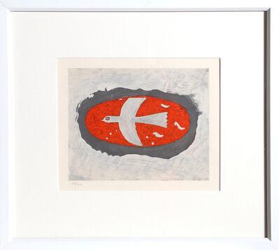 Georges Braque, 'Oiseau en Rouge', circa 1967