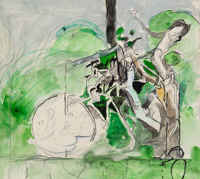 Graham Sutherland, 'Study for Three Forms', 1979