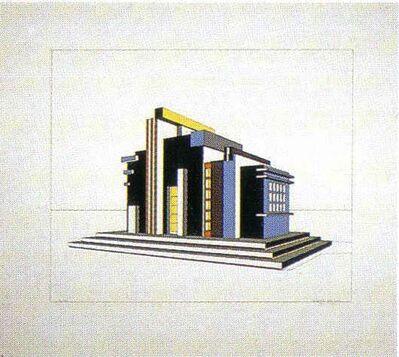 Alberto Sartoris, 'Cappella - Bar Futurista', 20th Century