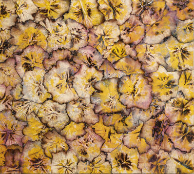 Thornton Dial, 'Untitled Pink and Yellow Bloom', 2015-2016