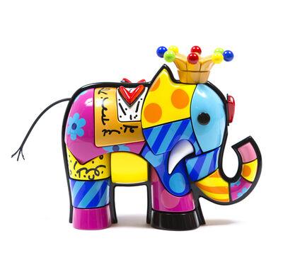 Romero Britto, 'Elephant', 2014