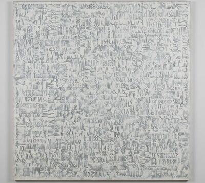Giorgio Milani, 'Sindone di Gutenberg bianca', 2015