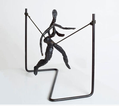 Alexander Calder, 'Tightrope Worker (Woman on Cord)', 1944