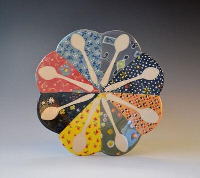 Rachel Hubbard Kline, 'Dresden Spoon Plate', 2016