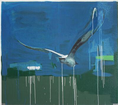 Thomas Øvlisen, 'Blue on Green', 2019