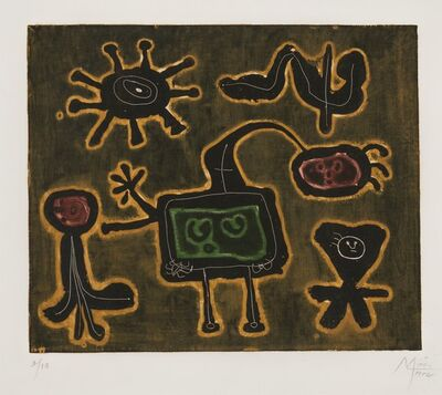 Joan Miró, 'Serie 1', 1952