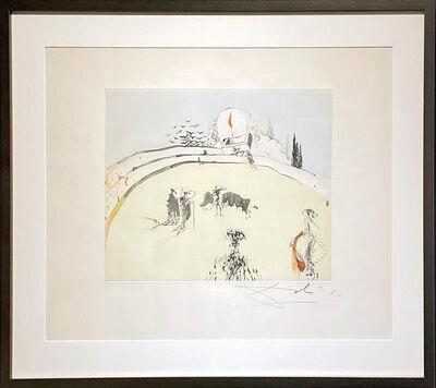 Salvador Dalí, 'Bullfight with Drawer', 1966-1967