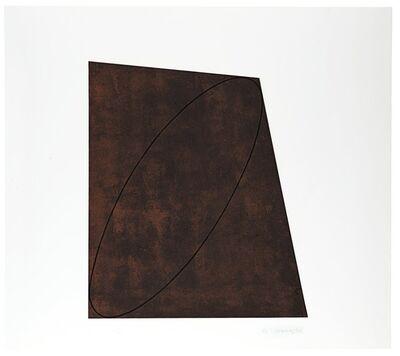 Robert Mangold (b.1937), 'Attic Series I-IV', 1991