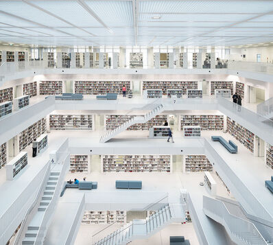 Reinhard Gorner, 'Open Space, City Library, Stuttgart, Germany', 2014