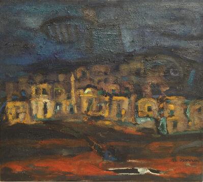 Usama Said, 'Palestinian Village', 1992