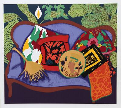 Hunt Slonem, 'Purple Couch', 1980