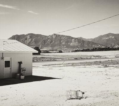 Robert Adams (b.1937), 'Tract home and abandoned shopping cart. Colorado Springs, Colorado', 1968-1971