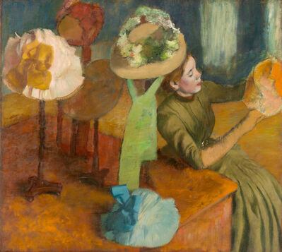Edgar Degas, 'The Millinery Shop', 1879-1886