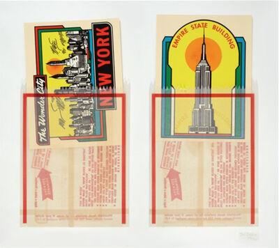 Joe Tilson, 'New York Decals 1 & 2', 1967