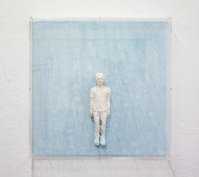 Hirofumi Fujiwara, 'utopian (blueshower)', 2019