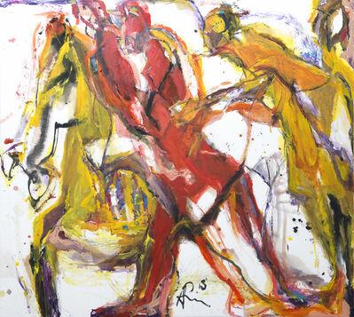 Andrew Lui, 'Red Journey I', 2015