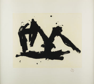 Robert Motherwell, 'Stephen's Iron Crown Etched ', 1982