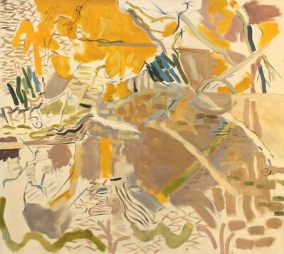 Lois Dodd, 'Pond', 1962
