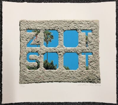Ed Ruscha, 'Zoot Soot', 2019
