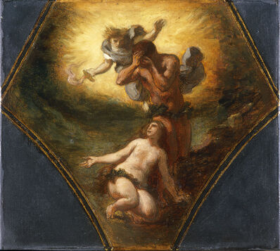 Eugène Delacroix, 'The Expulsion of Adam and Eve from Paradise', 1844