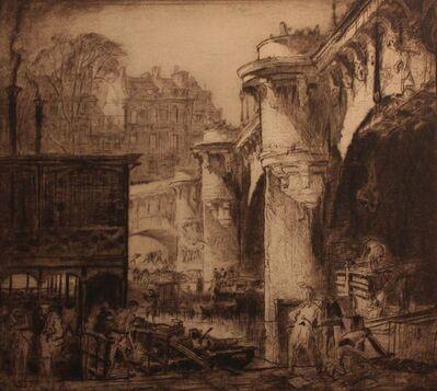 Sir Frank Brangwyn, 'Pont Neuf, París', 1919