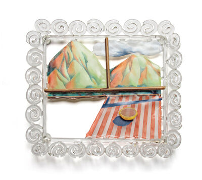 Ginny Ruffner, 'BOWL OF MOUNTAINS', 2005