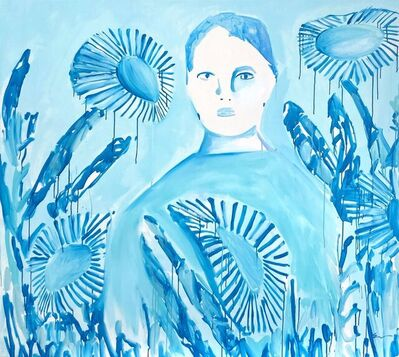 Erin Armstrong, 'Blue Sundown', 2021