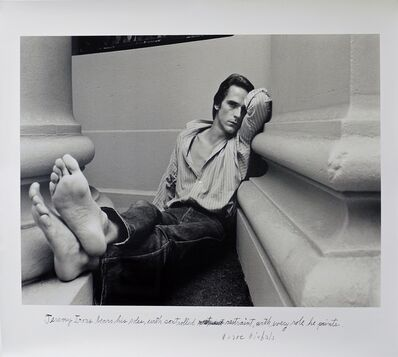 Duane Michals, 'Jeremy Irons', 1980
