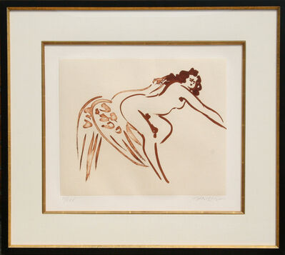 Reuben Nakian, 'Leda and the Swan - 7 (Sepia)', 1980