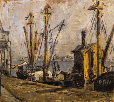 José Gurvich, 'PUERTO DE MONTEVIDEO', 1946