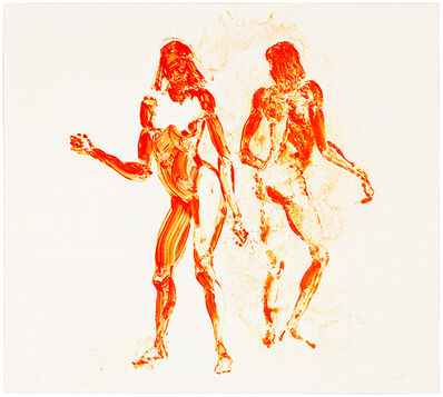 Eric Fischl, 'Two Girls Dancing', 2011