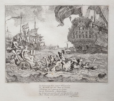 Ludolf Backhuysen, 'Series of ten Seascapes (complete set)', 1701