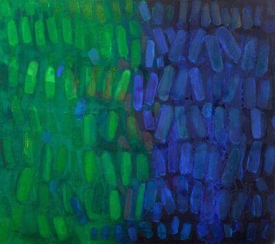 Yvonne Thomas, 'Blue Green', 1964