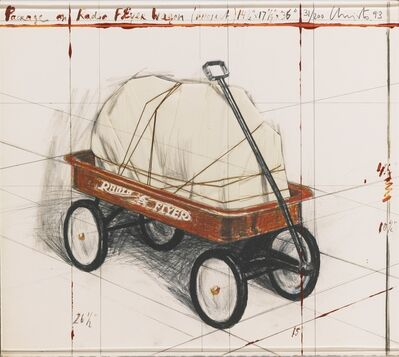 Christo and Jeanne-Claude, 'Package on Radio Flyer Wagon, Project, 1993', 1993
