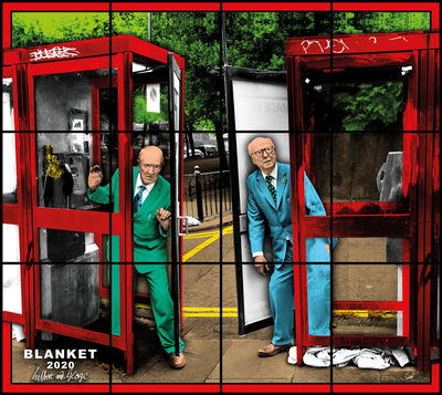 Gilbert and George, 'BLANKET', 2020