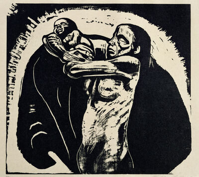 Käthe Kollwitz, 'The Sacrifice', 1922