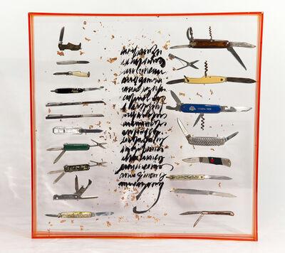 Mariana Pabst Martins, 'Canivetes do meu pai', 2018