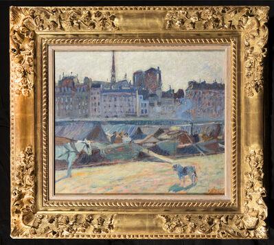 Raoul Dufy, 'La Cité, vue du quai l'Hotel de Ville', 1904
