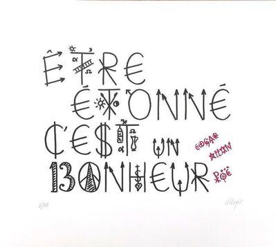 Jacques Villeglé, 'Etre étonné c'est un bonheur', 2014