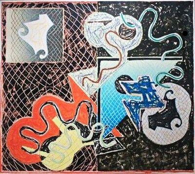 Frank Stella, '(Whitney Museum Exhibited) Shards IVA  (Axsom 151)', 1982