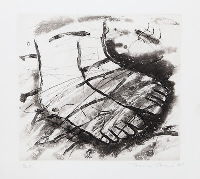 Louisa Chase, 'Feet (Black and White)', 1984