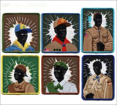 Kerry James Marshall, 'Set of Six (Six) Scout Series Embroidered Patches ', 2017