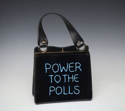 Michele Pred, 'Power to the Polls', 2020