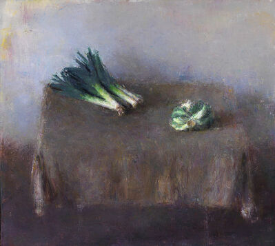 Daniel Enkaoua, 'Les poireaux et le chou vert vu de dos', 2014-2015