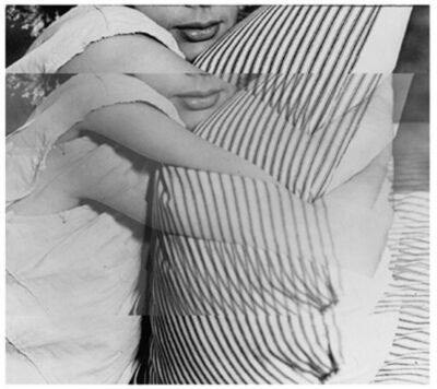 John Baldessari, 'Woman with Pillow', 2003