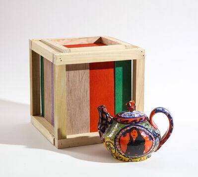 Roberto Lugo, 'Kamala Harris Teapot and Box Set', 2021