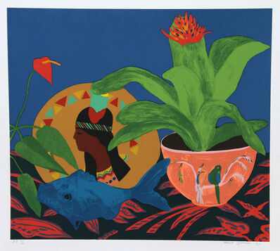 Hunt Slonem, 'Pocahontas Pillow', 1980
