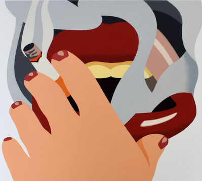 Tom Wesselmann, 'Smoker, from: An American Portrait', 1976